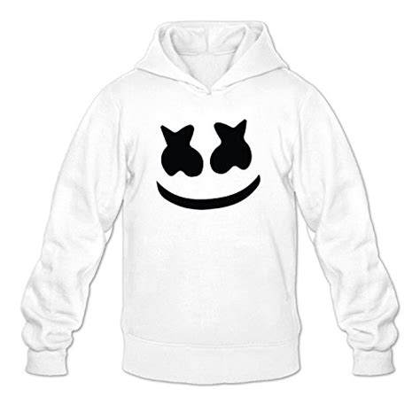 Marshmello Oblong Hodie Black marshmello s athletic jacket hoodie white buy in uae apparel products in