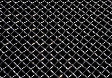 trex  polished stainless steel mesh grille material