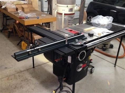 sawstop sliding table or old dog new tricks