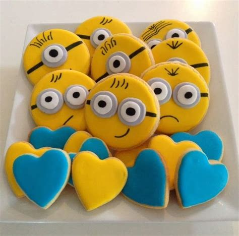 minion cookies 20 best theme despicable me cookies images on