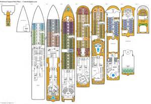 Deck Plans by Seabourn Sojourn Deck Plans Cabin Diagrams Pictures