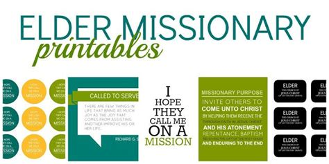 printable missionary tags 43 best images about free lds printables on pinterest i