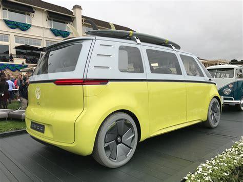 volkswagen van 2018 vw brings back the bus pebble beach 2018 porsche cayenne