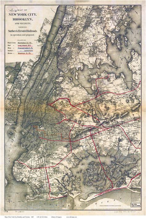 map of new york city framed maps of manhattan new york city