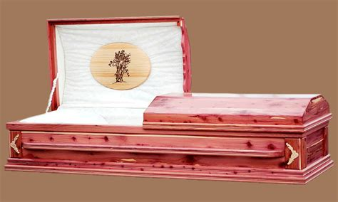 Handmade Wooden Coffins - cedar handmade wooden caskets and lining
