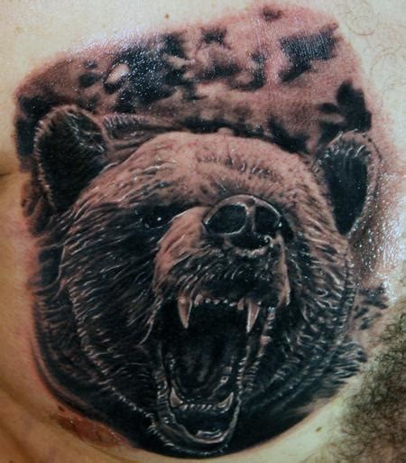 grizzly bear tattoos for men grizzly for tattooshunt