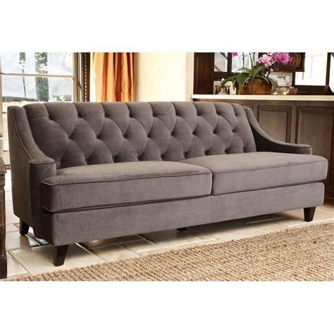 abbyson living emily tufted sofa in gray rl 1450 gry 3
