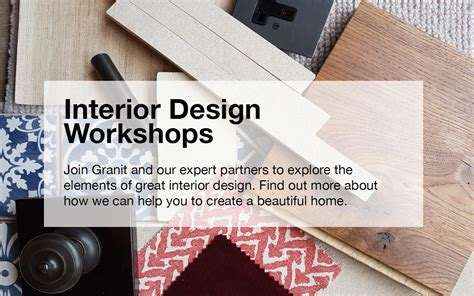 design expert workshop interior design workshops granit