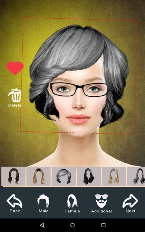 hair makeover download hairstyle changer app virtual makeover women men