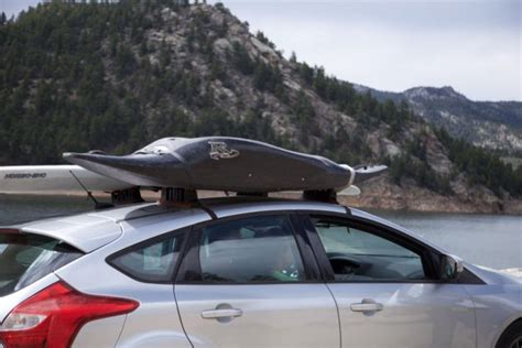 Temporary Roof Rack by The Stowaway Puts Storable Roof Rack On Your Car For Just