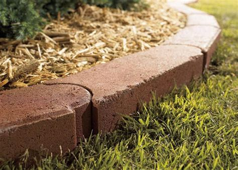 home depot landscape stones lawn edging products