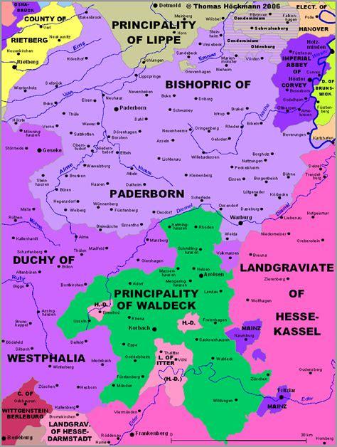 paderborn map impressum