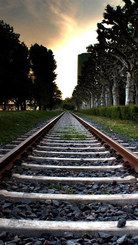 train railroad wallpaper  iphone