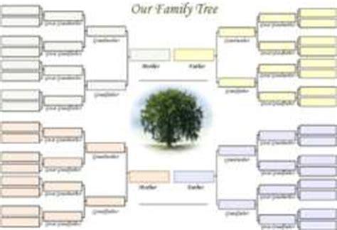 11 generation family tree template family tree templates