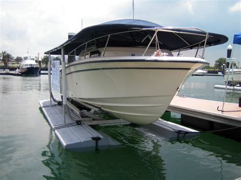floating boat lift used sunstream boat lifts 187 floatlift premium free floating