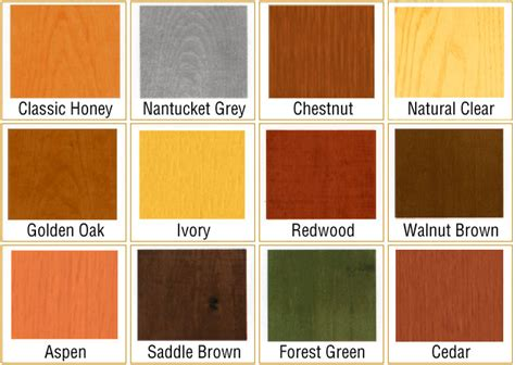 wood furniture colors chart pdf diy wood stains outdoor wood shop tools and equipment 187 plansdownload