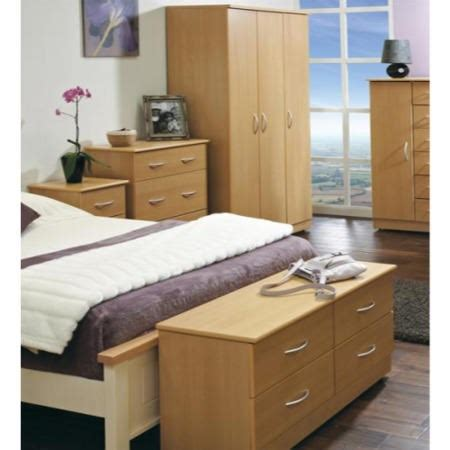 Welcome Furniture Stratford 5 Piece Bedroom Furniture Set Beech Bedroom Furniture Uk