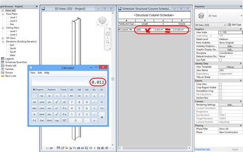 sle size calculation for cross sectional design calculated weight structures steel autodesk community