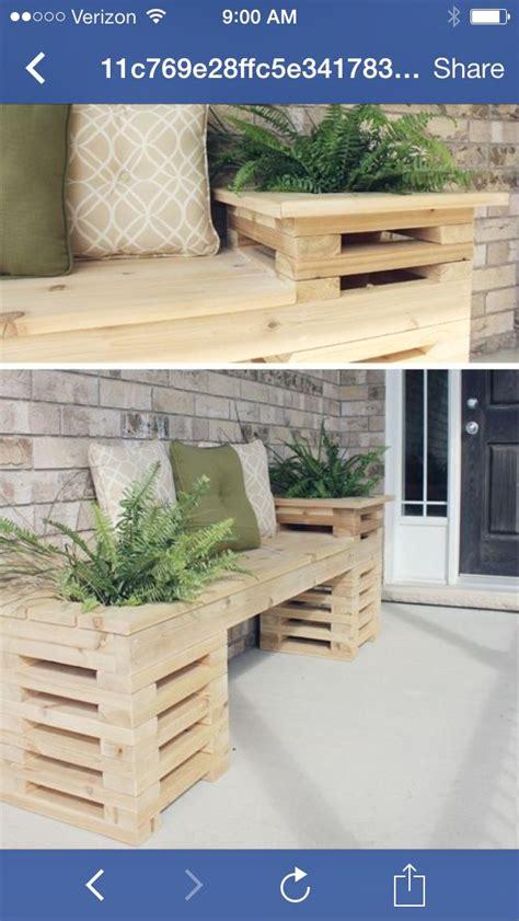 Idee Deco Petit Jardin 3418 by Pallet Bench Home Bonnes Id 233 Es Bois Et