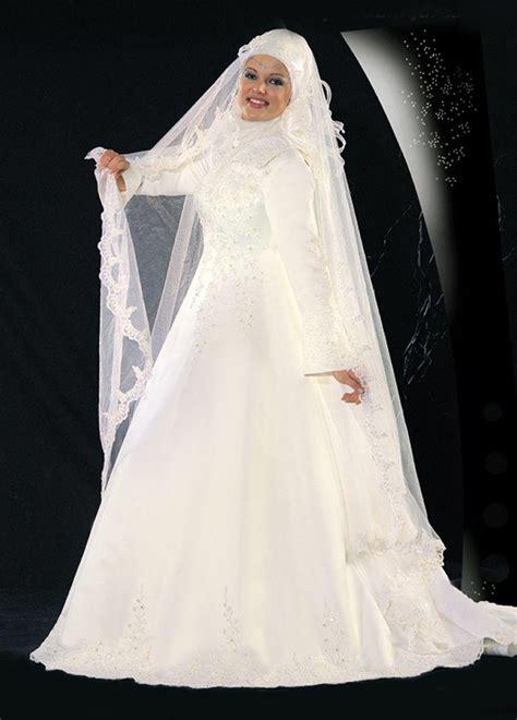 Muslim Wedding Dress by Modern Muslim Wedding Dresses Design With Veil Wedding