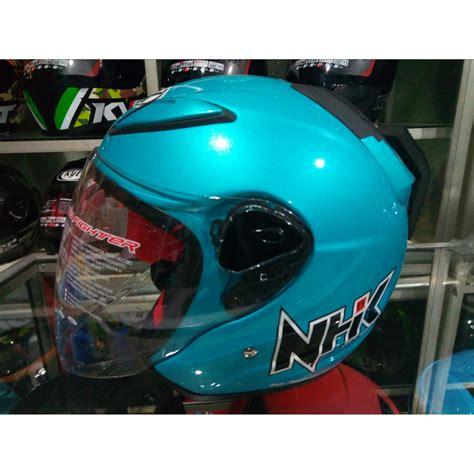 Helm Nhk R6 Pixel helm nhk r6 blue biru half size l elevenia