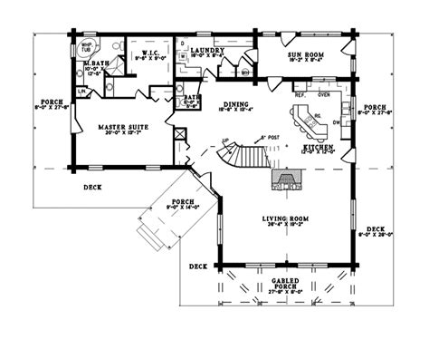 mountain floor plans saddlehill rustic mountain home plan 073d 0045 house