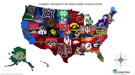 map of colleges in united states map of united states colleges arabcooking me