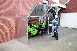 Motorcycle Shed Retractable Motorcycle Shed