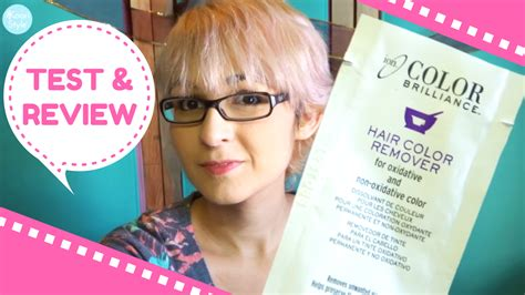 review ion color brilliance hair color remover