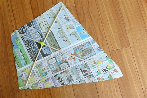 How To Make A Simple Kite Out Of Paper - how to make a kite buggy and buddy