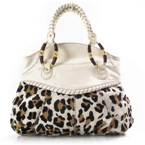 Valentino Leopard Print Bag by Valentino Leopard Print Calf Hair Tote 16982