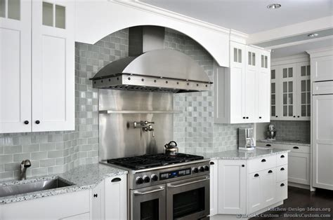 kitchen backsplash for white cabinets brooks custom portfolio of kitchens countertops