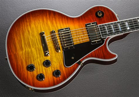 Handmade Les Paul - les paul custom figured heritage cherry sunburst dave