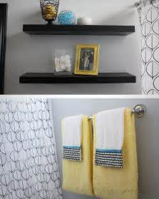Yellow And Gray Bathroom Accessories Fit Crafty Stylish And Happy Guest Bathroom Makeover