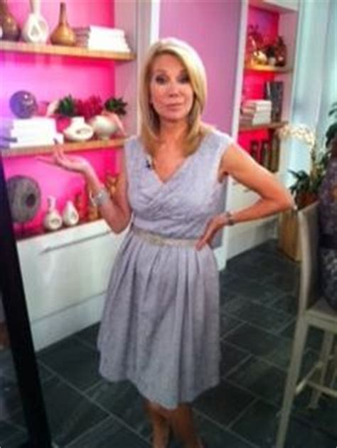 does kathy lee gifford wear extensions kathie lee gifford wearing adrianna papell on the today