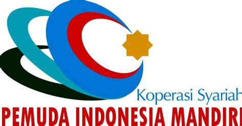 desain logo gambar online gratis desain logo koperasi syariah pemuda indonesia mandiri by