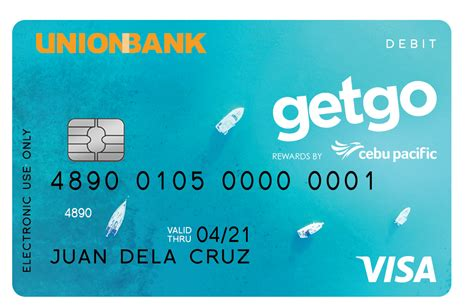 union bank card unionbank of the philippines debit cards