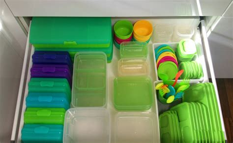 How To Organize Tupperware Drawer by Back To School And Back To Basics