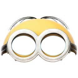 minion mask template printable minion mask reanimators