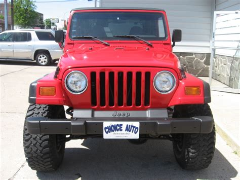 Jeep Wrangler For Sale Iowa 1998 Jeep Wrangler For Sale In Carroll Ia
