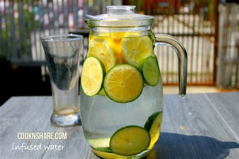 Apple Lime Detox Water by Lemon Lime And Cucumber Infused Water Cook N