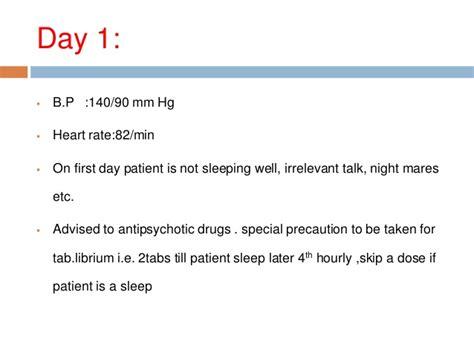 Oxazepam In Detox Withdrawal by Withdrawal Delirium By Mj