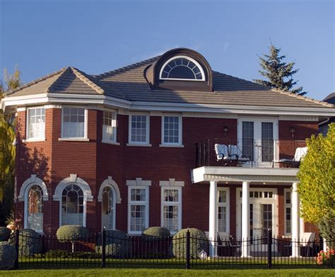 23 best images about red brick homes on pinterest red brick house with fence ross murphy flickr