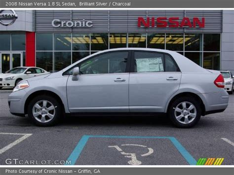 2008 nissan versa interior brilliant silver 2008 nissan versa 1 8 sl sedan