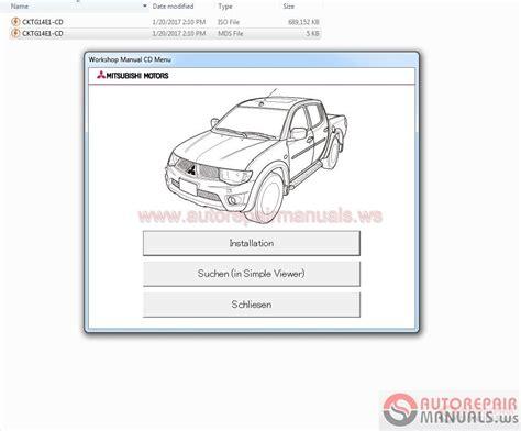 online service manuals 1995 mitsubishi 3000gt transmission control mitsubishi l200 ka4t kb4t 2014 service manual auto repair manual forum heavy equipment