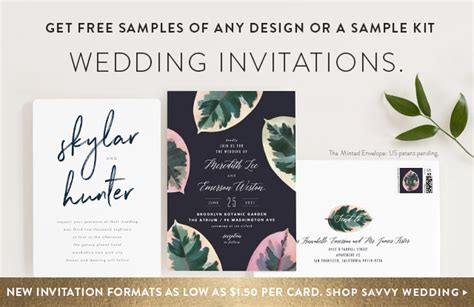 free mobile wedding invitations wedding invitations minted