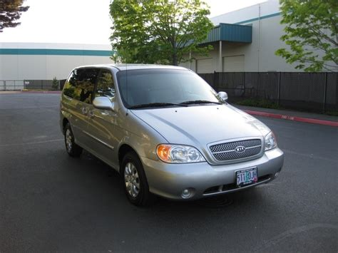 2005 Kia Sedona No Heat 2005 Kia Sedona Lx Minivan V6 Automatic 3rd Seat Loaded