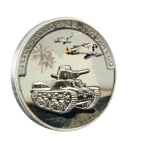 colored coins quot tanks of wwii quot 2008 series ii five silver colored coins