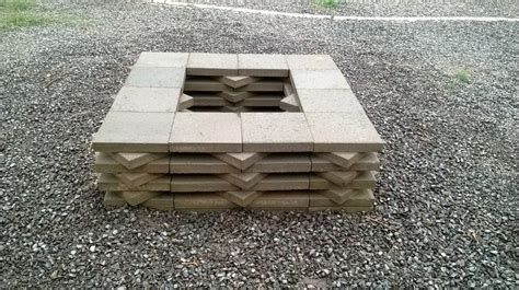 Diy Brick Firepit Diy Brick Pit Tutorial Pit Design Ideas