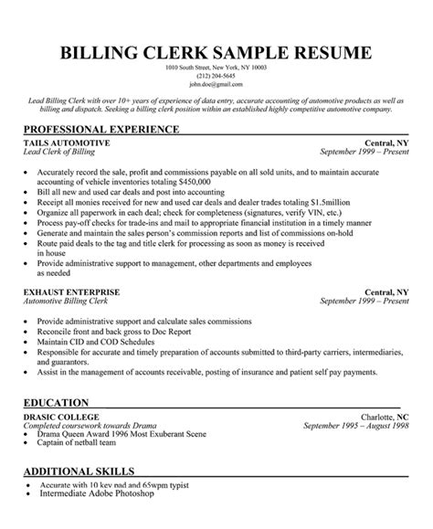 clerical resume sle bank clerk resume sle 28 images bank clerk resume sle